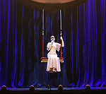 Amelie van Tass, The Clairvoyants from 'The Illusionists' during a press preview of 'The Illusionists - Turn of the Century' at The Theater Center on November 29, 2016 in New York City.