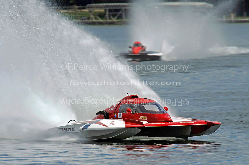 "Tom English, E-75, ""The Investigator""  (5 Litre class hydroplane(s)"