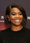 Gabrielle Union attends the Broadway Opening Night of 'AMERICAN SON' at the Booth Theatre on November 4, 2018 in New York City.
