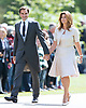 20.05.2017; Englefield, UK: ROGER AND MIRKA FEDERER<br /> attenD Pippa Middleton's Wedding to James Mathews at St Mark's Church, Englefield.<br /> Also present at the church service were the Duke and Duchess of Cambridge, Prince George, Princess Charlotte and Princess Eugenie.<br /> Mandatory Photo Credit: &copy;Francis Dias/NEWSPIX INTERNATIONAL<br /> <br /> IMMEDIATE CONFIRMATION OF USAGE REQUIRED:<br /> Newspix International, 31 Chinnery Hill, Bishop's Stortford, ENGLAND CM23 3PS<br /> Tel:+441279 324672  ; Fax: +441279656877<br /> Mobile:  07775681153<br /> e-mail: info@newspixinternational.co.uk<br /> Usage Implies Acceptance of OUr Terms &amp; Conditions<br /> Please refer to usage terms. All Fees Payable To Newspix International