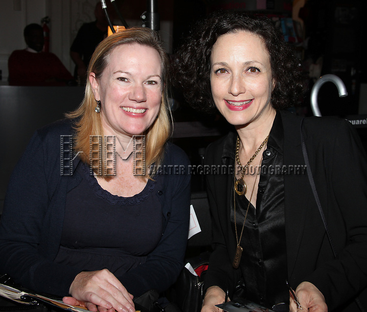 Kathleen Marshall & Bebe Neuwirth.attending the Broadway League and Coalition of Broadway Unions and Guilds Presentation of The 3rd Annual Broadway Salutes in New York City.