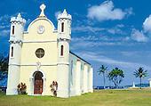 Lifou, église de Wé