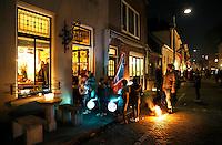 Nederland Zaltbommel. 2016. Sint Maartensfeest.  Sint Maarten viering. Lampion optocht. Foto Berlinda van Dam / Hollandse Hoogte