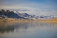 Buffalo Bill Reservior, Absaroka Mountains, Cody, Wyoming