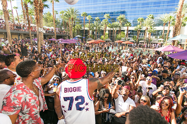 LAS VEGAS, NV - August 26, 2017: ***HOUSE COVERAGE*** Sean 'Diddy' Combs AKA Puff Daddy hosts a Pre-Fight Party at REHAB Pool Party at Hard Rock Hotel &amp; Casino in Las vegas, NV on august 26, 2017. <br /> CAP/MPI/EKP<br /> &copy;EKP/MPI/Capital Pictures