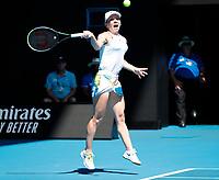 29th January 2020; Melbourne Park, Melbourne, Victoria, Australia; Australian Open Tennis, Day 10; Simona Halep of Romania during her match against Anett Kontaveit of Estonia