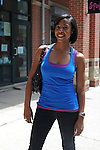 Leslie Wilson, 26, a University of Chicago Student in Wicker Park in Chicago, Illinois on June 20, 2009.