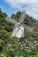 Windmill Garden, Heritage Museums and Gardens, Sandwich, Massachusetts, USA