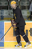 Peter Kennedy - The University of Minnesota Golden Gophers took part in their morning skate at Ralph Engelstad Arena in Grand Forks, North Dakota, on Saturday, December 10, 2005.