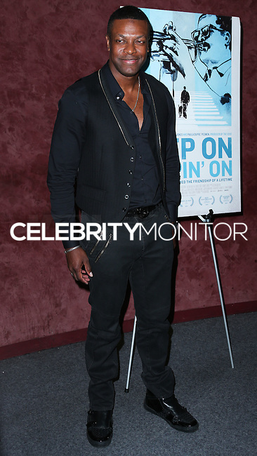 LOS ANGELES, CA, USA - SEPTEMBER 17: Chris Tucker arrives at the Los Angeles Premiere Of RADiUS-TWC's 'Keep On Keepin' On' held at the Landmark Theatre on September 17, 2014 in Los Angeles, California, United States. (Photo by Xavier Collin/Celebrity Monitor)