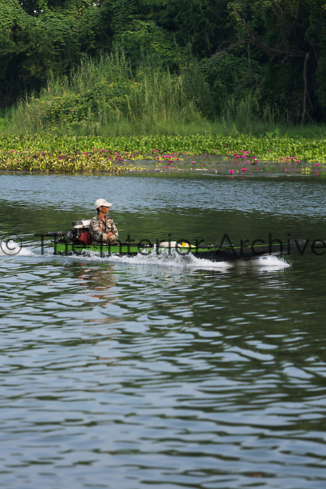 Local transport on the Khwae Yai River.