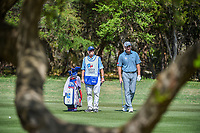 Jim Furyk (USA) waits to hit his approach shot on 9 during Round 1 of the Valero Texas Open, AT&amp;T Oaks Course, TPC San Antonio, San Antonio, Texas, USA. 4/19/2018.<br /> Picture: Golffile | Ken Murray<br /> <br /> <br /> All photo usage must carry mandatory copyright credit (&copy; Golffile | Ken Murray)