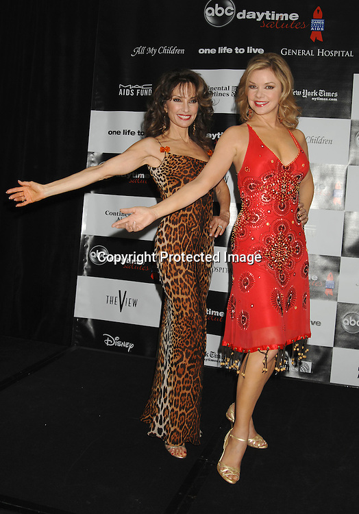 "Susan Lucci and Bobbie Eakesi of All My Children..at the afterparty for The 3rd Annual ""ABC Daytime Salutes Broadway Cares/Equity Fights Aids "" Benefit at the Marriott Marquis in New York on February 25, 2007. ..Robin Platzer, Twin Images.."
