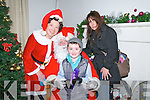 Santa Claus : Meeting Mr & Mrs Santa Claus at the Seanachai Centre in Listowel on Sunday last wes Padraig Kennelly and his mother Caroline from the Six Crosses, Listowel.