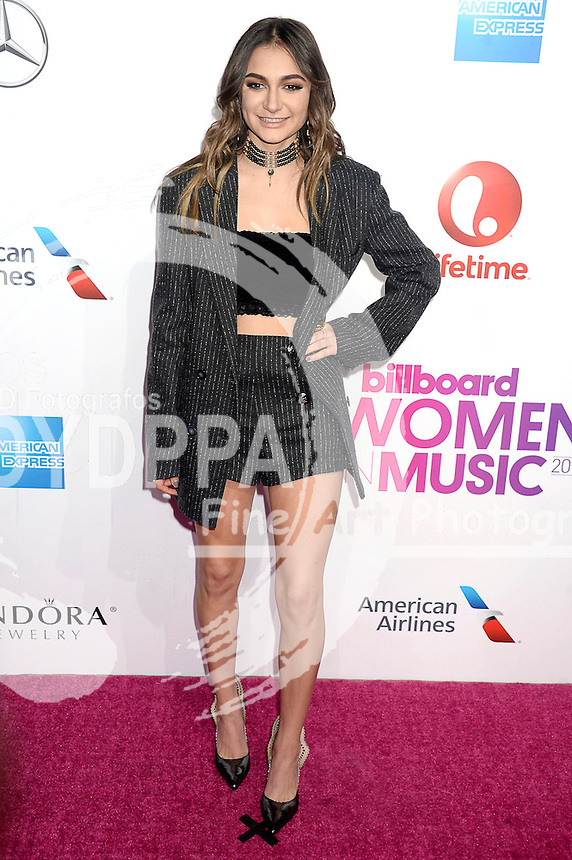 Daya attends Billboard Women In Music 2016 at Pier 36 on December 9, 2016 in New York City.