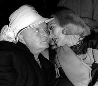 Truman Capote Gloria Swanson 1978<br /> Photo By Adam Scull/PHOTOlink.net