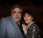 One Life To Live Vincent Pastore (Sopranos) poses with Linda Dano at HeartShare Human Services of New York 2012 as it held its Spring Gala & Auction on March 22, 2012 at the New York Marriott Marquis, New York City, New York. Actress Linda Dano (Another World and all ABC Soaps) presented The Linda Dano Heart Award to Tony Danza, stage, screen and TV star, producer, singer, author and teacher.  (Photo by Sue Coflin/Max Photos)