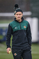 Preparations ahead of the Championship Cup match between Ealing Trailfinders and Richmond at Castle Bar , West Ealing , England  on 15 December 2018. Photo by David Horn.