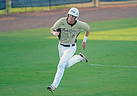 Florida International University outfielder Nathan Burns (6) plays against Florida Gulf Coast University. FIU won the game 10-3 on March 28, 2012 at Miami, Florida.