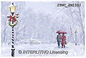 Marcello, CHRISTMAS LANDSCAPES, WEIHNACHTEN WINTERLANDSCHAFTEN, NAVIDAD PAISAJES DE INVIERNO, paintings+++++,ITMCXM1501,#XL#