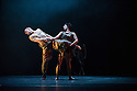 Leigh Warren + Dancers pesent a double bill of BREATHE and IMPULSE at the Festival Theatre in the Edinburgh International Festival. Dancers are: Bec Jones , Lisa Griffiths, Lewis Rankin,.Jesse Martin,.Perun Bonser, Sidney Saltner,.Timothy Farrar. Picture shows a scene from BREATHE.