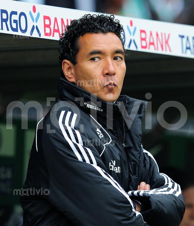 FUSSBALL  1. BUNDESLIGA   SAISON 2009/2010  34. SPIELTAG SV Werder Bremen - Hamburger SV                       08.05.2010 Trainer Ricardo MONIZ (Hamburg)