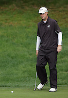 21 May, 2010:   Eastern Michigan's Brandon Lemons putts on the 12th hole during day two of the NCAA West Regional First Round at Gold Mountain Golf Course in Bremerton, Washington.