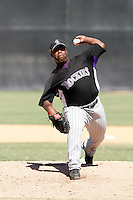 Isaiah Froneberger - Colorado Rockies, 2009 Instructional League.Photo by:  Bill Mitchell/Four Seam Images..