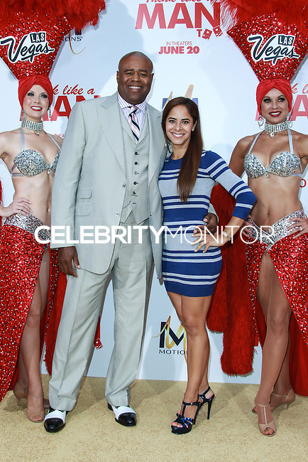 HOLLYWOOD, LOS ANGELES, CA, USA - JUNE 09: Chi McBride, Julissa McBride at the Los Angeles Premiere Of Screen Gems' 'Think Like A Man Too' held at the TCL Chinese Theatre on June 9, 2014 in Hollywood, Los Angeles, California, United States. (Photo by David Acosta/Celebrity Monitor)