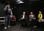 Bob Ost, David Carpenter, Michael Alden, Themis Gomes attends the Theater Resources Unlimited (TRU): Stream It and They Will Come: How Digital Capture Builds Audience Awareness at The Playroom Theatre on April 26, 2018 in New york City.