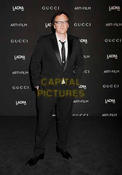 LOS ANGELES, CA - NOVEMBER 01: Honoree/writer/director Quentin Tarantino attends the 2014 LACMA Art + Film Gala honoring Barbara Kruger and Quentin Tarantino presented by Gucci at LACMA on November 1, 2014 in Los Angeles, California.<br /> CAP/ROT/TM<br /> &copy;Tony Michaels/Roth Stock/Capital Pictures