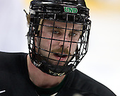 Matt Watkins (North Dakota 20) - The 2008 Frozen Four participants practiced on Wednesday, April 9, 2008, at the Pepsi Center in Denver, Colorado.
