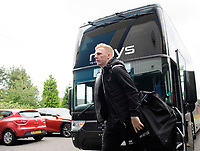 Blackpool's Callum Guy gets off the team bus after arriving at the ground<br /> <br /> Photographer Chris Vaughan/CameraSport<br /> <br /> The EFL Sky Bet League One - Coventry City v Blackpool - Saturday 7th September 2019 - St Andrew's - Birmingham<br /> <br /> World Copyright © 2019 CameraSport. All rights reserved. 43 Linden Ave. Countesthorpe. Leicester. England. LE8 5PG - Tel: +44 (0) 116 277 4147 - admin@camerasport.com - www.camerasport.com