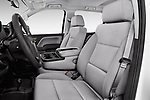 Front seat view of 2018 Chevrolet Silverado-1500 1LS-Crew-Cab-Short-Box 4 Door Pickup Front Seat  car photos