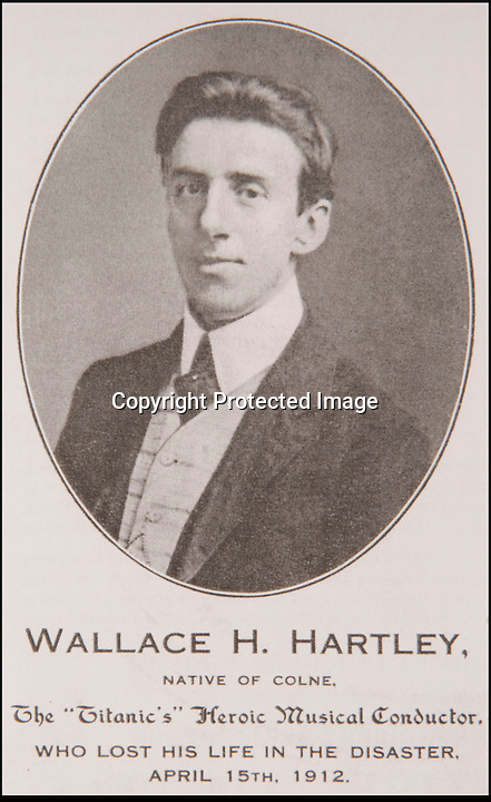 BNPS.co.uk (01202 558833)<br /> Pic: Phil Yeomans/BNPS<br /> <br /> And the band played on...<br /> <br /> Wallace Hartley.<br /> <br /> The historic violin that was famously played as the Titanic sank has been sold at auction in Devizes for £1.1 million.<br /> <br /> The wooden instrument has been proven to be the one used by Wallace Hartley as his band famously played on to help keep the passengers calm during the disaster.<br /> <br /> Its existence and survival only emerged in 2006 when the son of an amateur violinist who was gifted it by her music teacher in the early 1940s contacted an auctioneers.