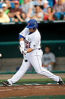 Florida's Preston Tucker against UCLA in Game 2 of the NCAA Division One Men's College World Series on Saturday June 19th, 2010 at Johnny Rosenblatt Stadium in Omaha, Nebraska.  (Photo by Andrew Woolley / Four Seam Images)