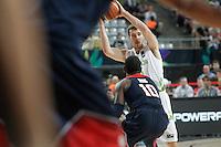 Slovenia's Goran Dragic (r) and USA's Kyrie Irving during 2014 FIBA Basketball World Cup Quarter-Finals match.September 9,2014.(ALTERPHOTOS/Acero)