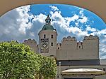 Szczecin, (woj. zachodniopomorskie), 15.07.2013. Zamek Książąt Pomorskich – renesansowy zamek usytuowany na Wzgórzu Zamkowym.