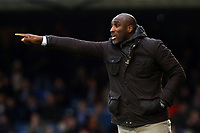 Southend United manager Sol Campbell during Southend United vs Tranmere Rovers, Sky Bet EFL League 1 Football at Roots Hall on 11th January 2020
