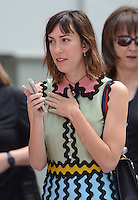 Gia Coppola @ Francis Ford Coppola Hand & Foot Print ceremony held @the TCL Chinese theatre.<br /> April 29, 2016
