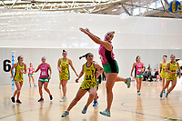 Southern Blast&rsquo;s Tarryn Dickson in action during the Beko Netball League - Central Manawa v Southern Blast at ASB Sports Centre, Wellington, New Zealand on Sunday 12 May 2019. <br /> Photo by Masanori Udagawa. <br /> www.photowellington.photoshelter.com