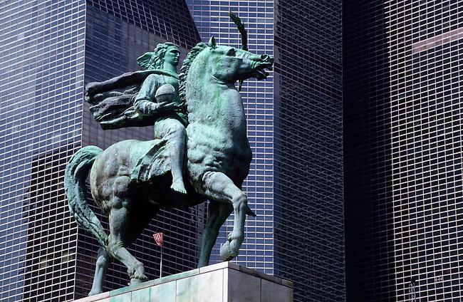 skyscraper in New York City, USA