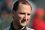 29 January 2006: Kevin Stott, of the U.S., worked the game as the Fourth Official. The United States Men's National Team defeated their counterparts from Norway 5-0 at the Home Depot Center in Carson, California in a men's international friendly soccer game.