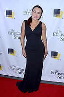 """LOS ANGELES - OCT 28:  Sandra Santiago at the """"The Etruscan Smile"""" Premiere at the Writers Guild Theatre on October 28, 2019 in Beverly Hills, CA"""