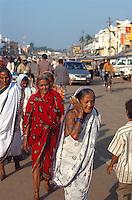 Indien, Orissa, Puri, Strassenszene