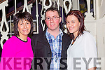 Noreen Goulding Gneeveguilla, DJ Curtin and Michelle Curtin Kiskeam at the Gathering Traditional Festival in the Gleneagle Hotel on Saturday night