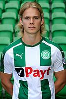 GRONINGEN - Voetbal, Presentatie FC Groningen o23, seizoen 2017-2018, 11-09-2017,   FC Groningen speler Hampus Finndell
