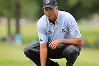 Matt Kuchar (USA) lines up his putt on the 2nd green during Sunday's Final Round of the WGC Bridgestone Invitational 2017 held at Firestone Country Club, Akron, USA. 6th August 2017.<br /> Picture: Eoin Clarke | Golffile<br /> <br /> <br /> All photos usage must carry mandatory copyright credit (&copy; Golffile | Eoin Clarke)