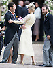 20.05.2017; Englefield, UK: SPENCER MATHEWS GREETS DONNA AIR<br /> at Pippa Middleton's Wedding to James Mathews at St Mark's Church, Englefield.<br /> Also present at the church service were the Duke and Duchess of Cambridge, Prince George, Princess Charlotte and Princess Eugenie.<br /> Mandatory Photo Credit: &copy;Francis Dias/NEWSPIX INTERNATIONAL<br /> <br /> IMMEDIATE CONFIRMATION OF USAGE REQUIRED:<br /> Newspix International, 31 Chinnery Hill, Bishop's Stortford, ENGLAND CM23 3PS<br /> Tel:+441279 324672  ; Fax: +441279656877<br /> Mobile:  07775681153<br /> e-mail: info@newspixinternational.co.uk<br /> Usage Implies Acceptance of OUr Terms &amp; Conditions<br /> Please refer to usage terms. All Fees Payable To Newspix International