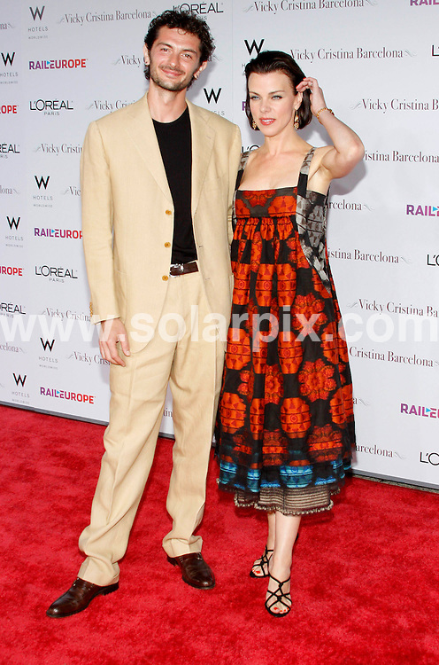 **ALL ROUND PICTURES FROM SOLARPIX.COM**.**SYNDICATION RIGHTS FOR UK, SPAIN, PORTUGAL, AUSTRALIA, S.AFRICA & DUBAI (U.A.E) ONLY**.Woody Allens latest movie Vicky Cristina Barcelona Los Angeles Premiere at the Mann Village Theatre in Westwood California in the USA. .This pic:Debi Mazar,guest..JOB REF:6968-PHZ/David Gabber     DATE:04_08_08 .**MUST CREDIT SOLARPIX.COM OR DOUBLE FEE WILL BE CHARGED* *UNDER NO CIRCUMSTANCES IS THIS IMAGE TO BE REPRODUCED FOR ANY ONLINE EDITION WITHOUT PRIOR PERMISSION*
